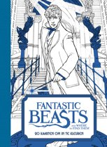 Fantastic Beasts and Where to Find Them - 20 kaarten om in te kleuren