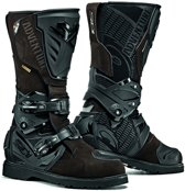 Sidi Adventure 2 Goretex® Motorlaarzen Black/Brown-40 (EU)
