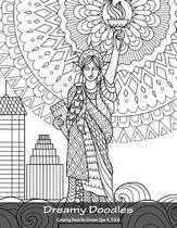 Dreamy Doodles Coloring Book for Grown-Ups 4, 5 & 6
