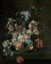 Schilderij / Poster  Stilleven met bloemen - Cornelia van der Mijn