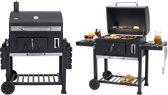 Tepro Toronto XXL Houtskoolbarbecue - RVS/Zwart