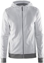 Craft In-The-Zone Full Zip Hood men white 3xl