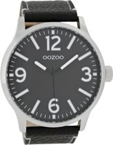 OOZOO Timepieces C7404 - Zwart Zwart - 50mm