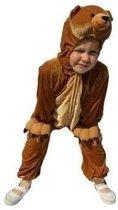Pluche beer kostuum voor kinderen 128