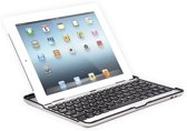 Avanca Aluminium Bluetooth Keyboard Case voor iPad Air - QWERTY - Zilver