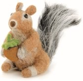 Maak je eigen eekhoorn van hobby vilt pakket