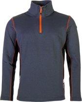 Icepeak Chris Thermo  Sportshirt - Maat L  - Mannen - grijs/oranje