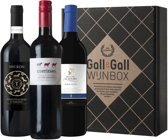 Gall & Gall Wijnbox Omfietswijnen - Rode wijn - 3 x 75 cl