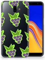 Samsung Galaxy J6 Plus (2018) Uniek TPU Hoesje Druiven