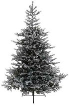 Kunst kerstboom Grandis Fir -  2326 tips - met sneeuw - 210 cm