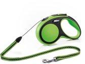 Flexi New Comfort Hondenriem - Groen - S - 5 M