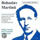 Kammermusik: Sonatine Fuer 2 Violinen/Sonate Fuer