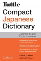 Omslag van 'Tuttle Compact Japanese Dictionary, 2nd Edition'