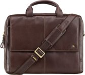 Visconti Anderson Messenger Bag Brown