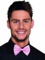Roze strik voor volwassenen - Verkleedattribuut