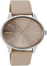 OOZOO Timepieces Taupe horloge  - Bruin