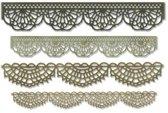 Sizzix Thinlits Die Set - 4PK Crochet 664178 Tim Holtz (04-19)
