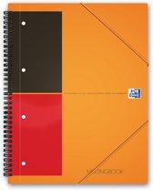 Oxford International Meetingbook notitieboek - A4+ - Gelijnd - 160 bladzijden