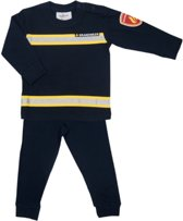 Fun2Wear Brandweer pyjama - Navy - Maat 98