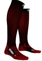 X-Socks Run Energizer Unisex Socks - Black/Ruby - 35-38