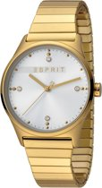 Esprit ES1L032E0115 VinRose Horloge - Staal - Goudkleurig - Ø 34 mm