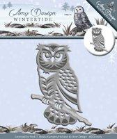 Die - Amy Design - Wintertide - Owl