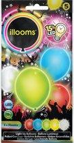 Illooms LED Ballonnen Mixed - 5 Stuks