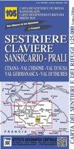 IGC Italien 1 : 25 000 Wanderkarte 105 Sestriere