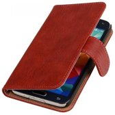 Bookwallet bark rood hoes Samsung Galaxy Note 4