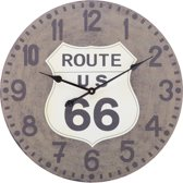 Wall Clock 60 cm Route 66