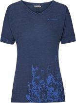 Women's Skomer V-Neck Shirt - sailor blue - 46