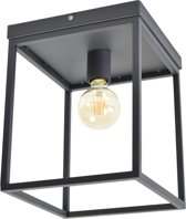 Urban Interiors - Plafondlamp - Lofty - Zwart - Metaal - 25x25x31