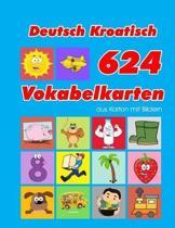 Deutsch Kroatisch 624 Vokabelkarten aus Karton mit Bildern: Wortschatz karten erweitern grundschule f�r a1 a2 b1 b2 c1 c2 und Kinder
