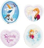 Frozen gummen - Gummen kinderen - Gummen set - 4 stuks - Disney gum