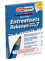 Boek cover Entreetoets Rekenen voor groep 7 van Sietse Kuipers