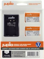 Jupio CSO1000 batterij-oplader Digital camera battery USB