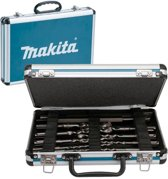 Makita D-42400 SDS-Plus Boren- en Beitel set in Koffer