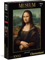 Clementoni Legpuzzel Museum Collection - Mona Lisa 1000 Stukjes
