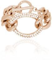 TOV Essentials - Starry lights flat chain bracelet - Rose/Golden Shadow