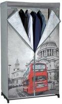 Garderobe hangkast - London - 87x45x156cm