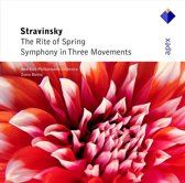 Stravinsky: The Rite of Spring, Symphony in 3 Movements / Mehta, NYPO
