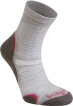 Bridgedale Trail Ultra Light Wool Fusion - Wandelsokken -Dames - 41-43 - Mushroom