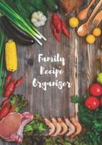 Our Family Recipe Organizer - Make Your Own Cookbook