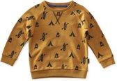 Little Label Jongens Sweater - okergeel - Maat 98