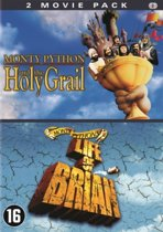 DVD cover van Monty Python And The Holy Grail / Monty Pythons Life Of Brian
