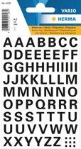 Herma 4158 Etiket met letters A-Z 10mm Transparant - 1 pakje met 1 velletje
