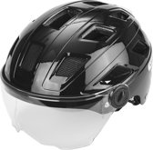 ABUS Helm Hyban + Clear Visor Black M 52-58