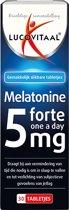 Lucovitaal - Melatonine 5 miligram Forte - 30 tabletten - Voedingssupplement