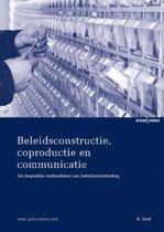 Studieboeken bestuur en beleid - Beleidsconstructie, coproductie en communicatie