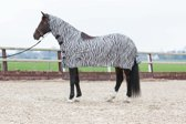 Harry Horse Vliegenrijdeken  Zebra - maat 165